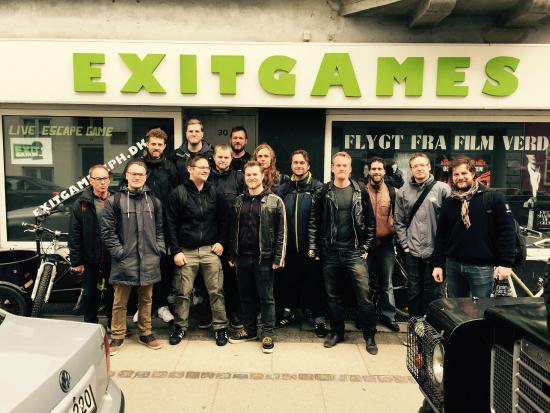 ExitGames - Live Escape Game Copenhagen