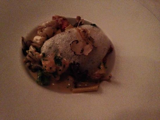 Maritana Grille at The Don CeSar: Pappardelle pasta, heirloom tomato, asparagus, spinach, truffle