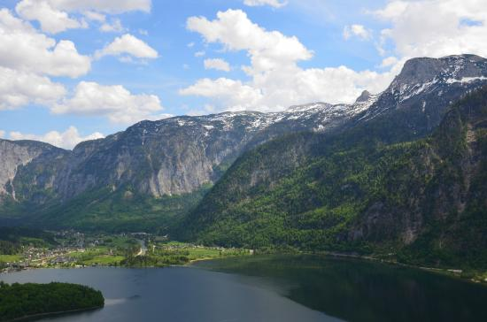 Pemandangan Pegunungan Alpen Dari Restaurant Di Puncak Picture Of