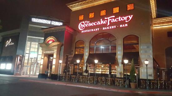 The Cheesecake Factory Entrance Of Restaurant And Bar