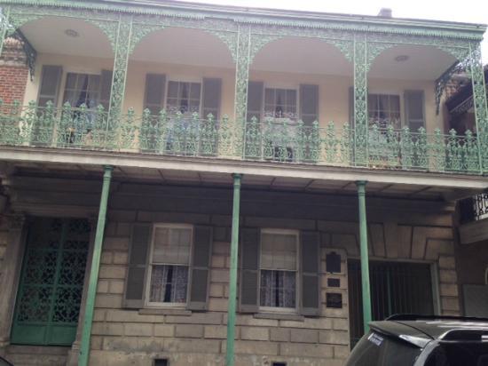 Gallier House exterior
