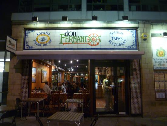 Don Fernando's: Restaurant Exterior