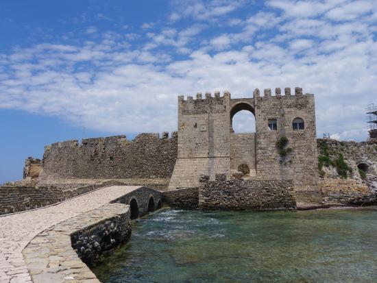 Methoni, Hellas: De Bourtzi-toren