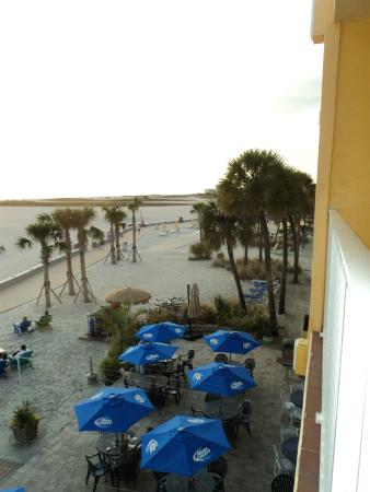 view from balcony room 316