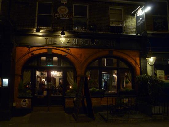 The Marlborough: Restaurant exterior