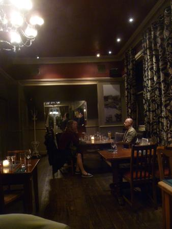 The Marlborough: indoor seating area