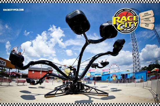 Race City PCB: The Spider