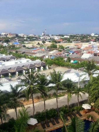 Nova Park Hotel Pattaya: 部屋からの眺め