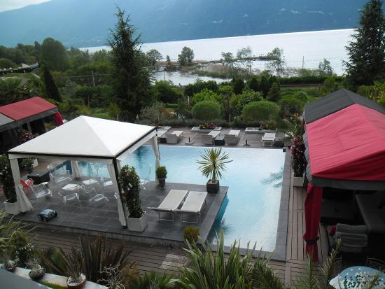 Suite Mont Revard - Vue de la terrasse - Picture of Les Suites du ...