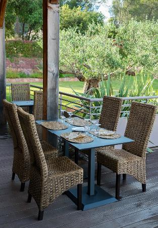 Hotellerie Kouros: Terrasse Bistrot K