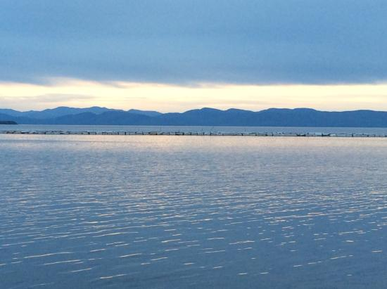 North Beach Park: View of Lake Champlain