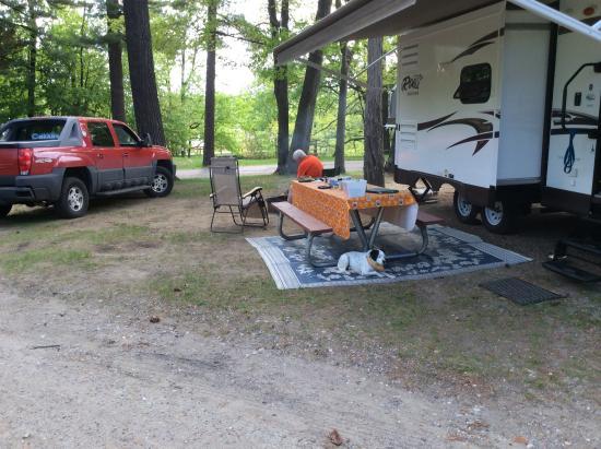 North Beach Park: Our Campsite (big)