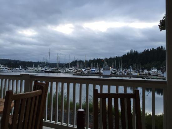 Port Ludlow, WA: View from the dining porch