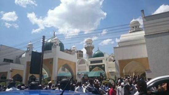 Jamia Mosque: El Gumaa pray