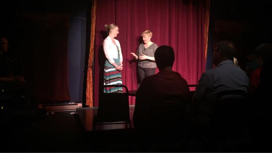 ImprovAcadia : Improv is a must do! We went two nights in a row! The 2nd night a friend volunteered her relatio