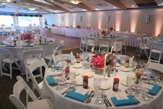 Delavan, WI: Wedding Setup in the Lake Lawn Room
