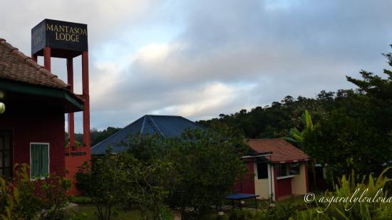 Mantasoa Lodge: vu sur le nom du lodge