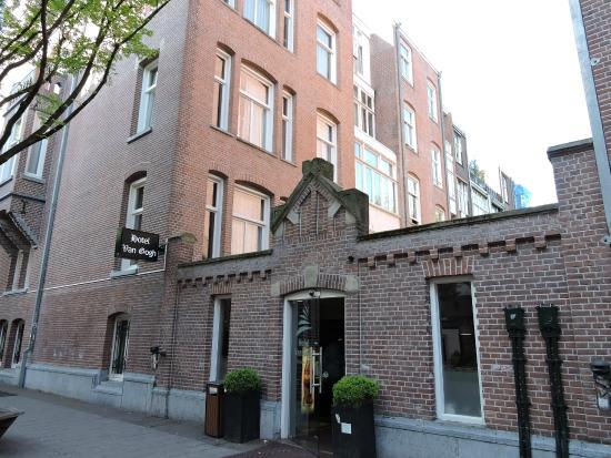Entrada Picture Of Hotel Van Gogh Amsterdam Tripadvisor