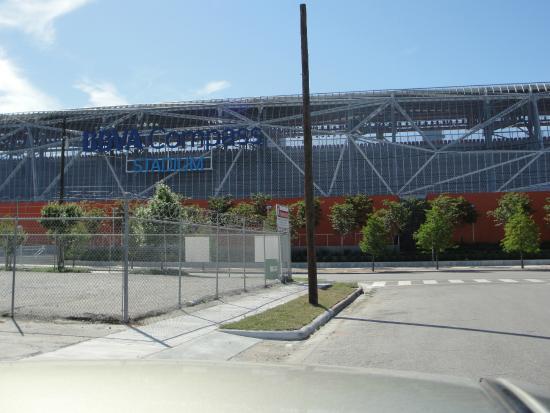 BBVA Compass Stadium: Externa