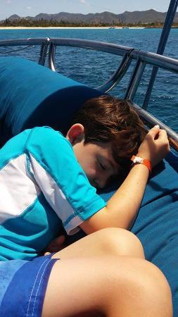 Simpson Bay, St. Maarten-St. Martin: He completely crashed