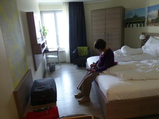Best Western Hotel Kantstrasse Berlin: our bedroom