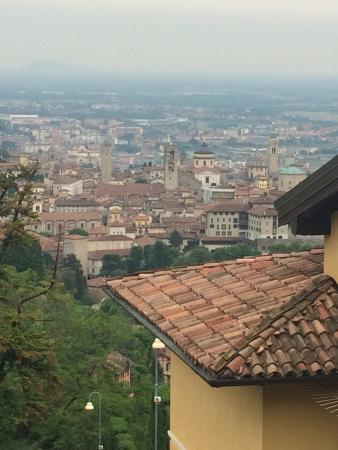 Petronilla Hotel : These are some of the views in Bergamo old town only a short walk from hotel petronilla