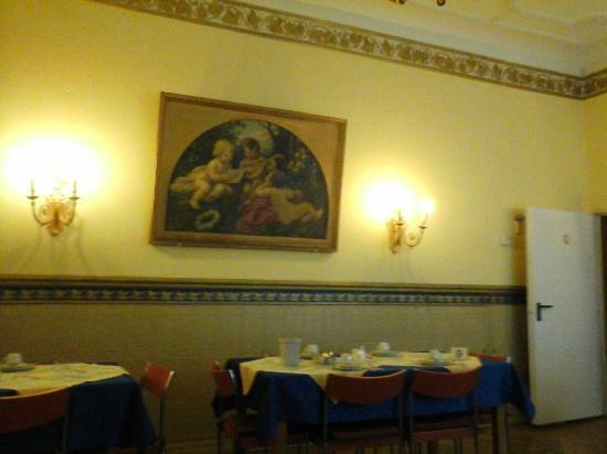 Hotel Gunia: Salão do café da manhã