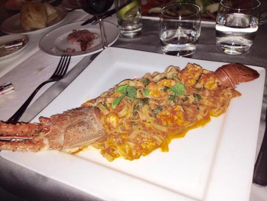 La Taverne Romaine: Lobster tagliatelle