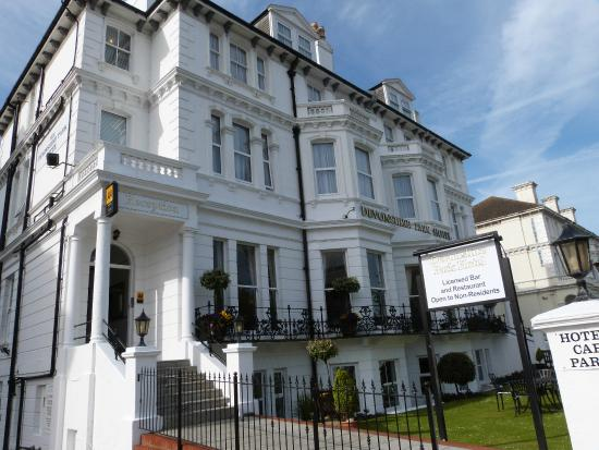 The Devonshire Park Hotel Eastbourne : Front of hotel