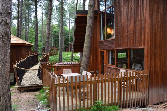 Forest Holidays Sherwood Forest, Nottinghamshire: Outside View
