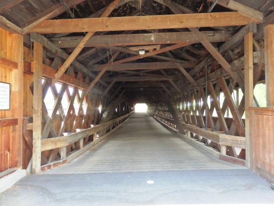 Woodsville, Nueva Hampshire: inside of bridge