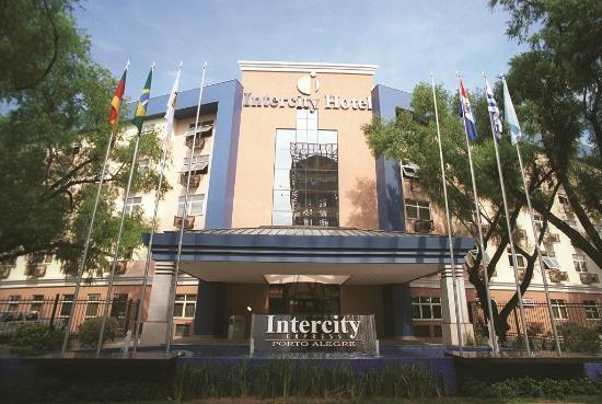 Aeroporto Porto Alegre : Fachada do hotel picture of intercity aeroporto porto