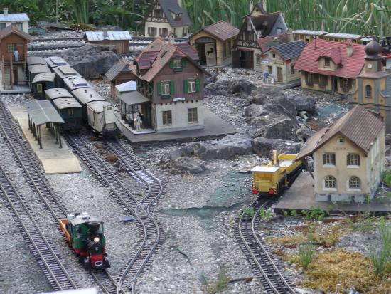 Balingen, Jerman: Male miniaturowe miasteczko