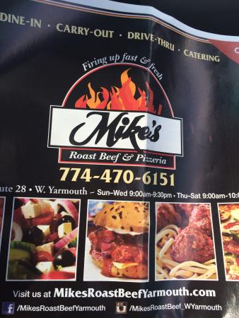 ‪Mike's Roast Beef & Pizzeria‬