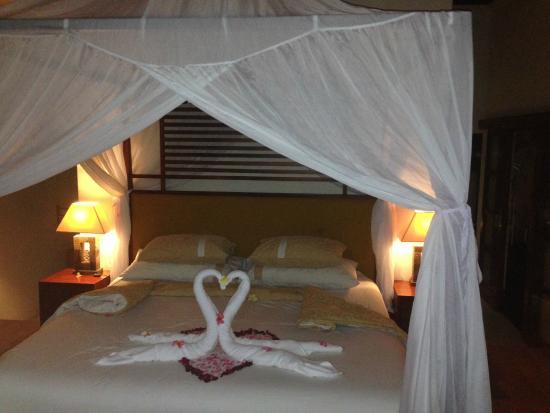 CK Villas Bali: bed