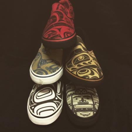 Courtenay, Canadá: fun footwear