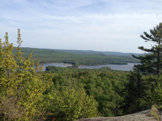 Old Forge, NY: View from the top