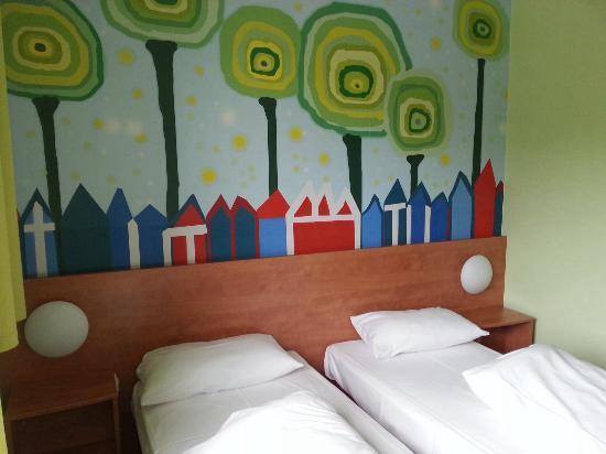 B&B Hotel Darmstadt: Zweibettzimmer