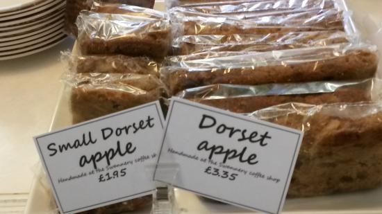 Dorset Apple Cake Not At That Price Picture Of Abbotsbury