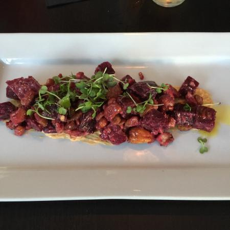 Jam Bistro By Eden: Amazing Roasted Baby Beet Salad!  The dressing used on the salad is tasty!  I also recommend the