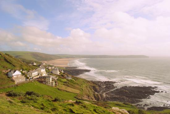 Lundy House Hotel looking towards Woolacombe