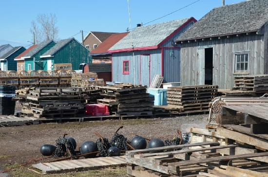 North Rustico Motel Cottages & Inn: Fishing Shacks in North Rustico