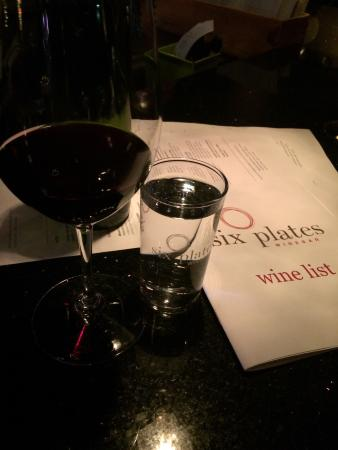 Six Plates: Awesome wine selection and service! ����