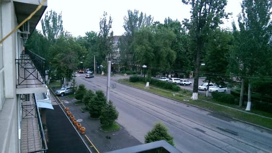 Tien-Shan City Hotel: View from the balcony