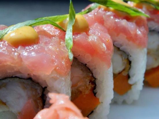 Zabo Sushi & Cocktails : Sushi rolls at Zabo