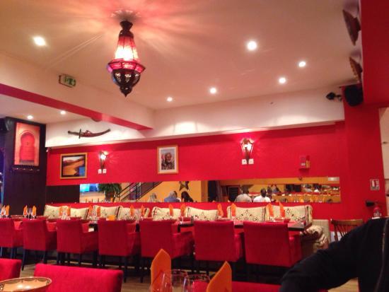 Le Berbere : Brick aux thons et couscous royal un délice !!!