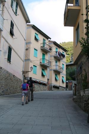 Quiet street Affittacamere Ilda is on