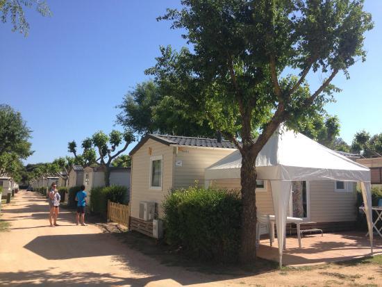 Camping Valldaro: Our Bungalow
