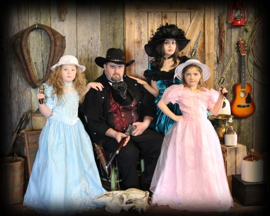Family That Shoots Together Stays Together Picture Of Tnt Old Time Photo Branson Tripadvisor