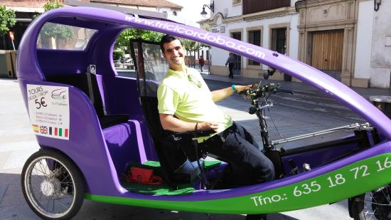 TriciCordoba: Andres &  his 'carriage'